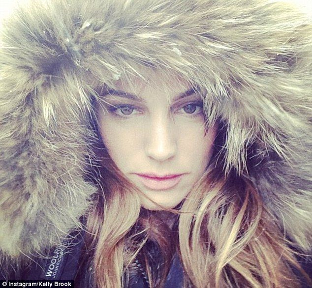 Snow: Helen Flanagan leads the way as stars tweet their snowy ...