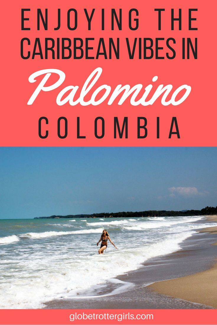 Enjoying the Caribbean Vibes in Palomino, Colombia. The true showstopper in Palomino isn't the mountains that back it, but the tropical beach, which was postcard-perfect, begging to be put on the cover of a glossy travel magazine. And the best part? We felt as if we were the only people around – what a difference to Tayrona or Bahia Concha which both had been crowded. Click through to read more about my experience in Palomino, Colombia. | Globetrotter Girls #palomino #colombia #caribbean…