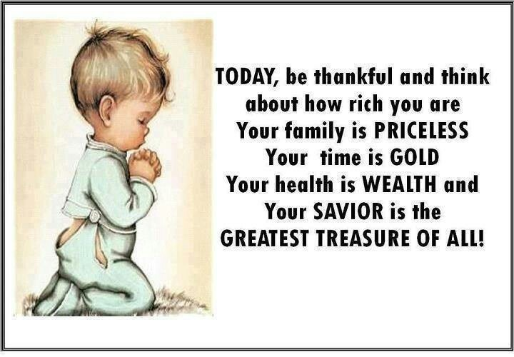 Be thankful today & everyday