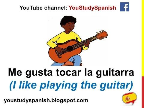 Spanish Lesson 29 - HOBBIES in Spanish Hobbies and Sports Vocabulary Los pasatiempos en español - YouTube
