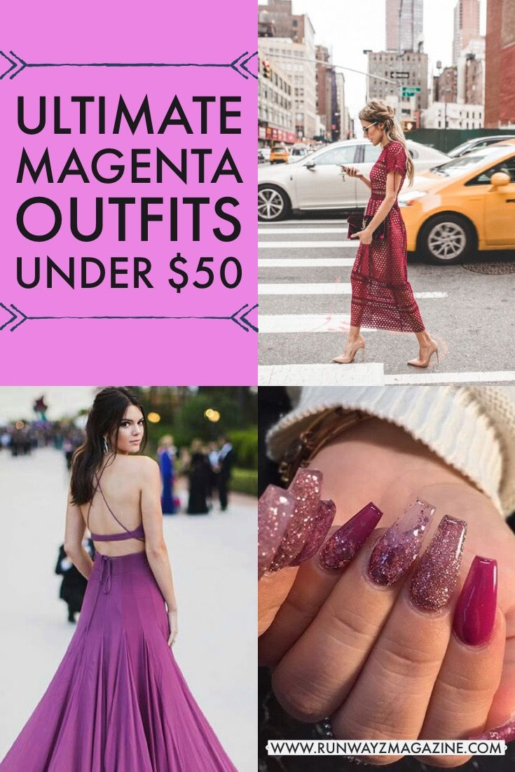 3d847ba82fa Magenta Outfits Under  50 + Pink Cute Dresses Under  50