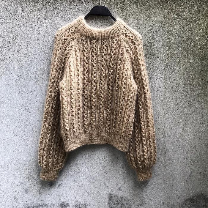 Vaffelsweater Dansk i 2020 | Gensermønstre, Tovet genser