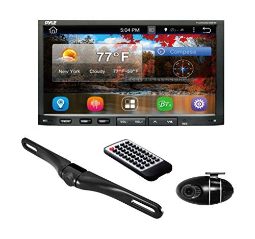 Special Offers - Pyle PLDNANDVR695  GPS Android Car Stereo Double Din DVR Dash Cam Backup Camera Kit- DVD Navigation Hands free Bluetooth USB SD Reader - In stock & Free Shipping. You can save more money! Check It (June 14 2016 at 05:42PM) >> http://caraudiosysusa.net/pyle-pldnandvr695-gps-android-car-stereo-double-din-dvr-dash-cam-backup-camera-kit-dvd-navigation-hands-free-bluetooth-usb-sd-reader/