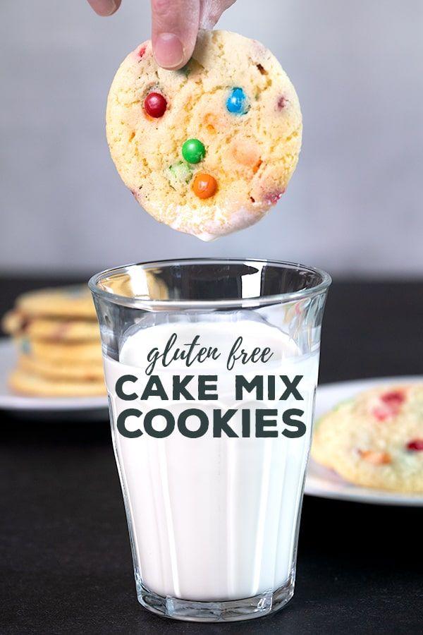 4-Ingredient Cake Mix Cookies