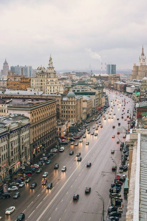 Day of Moscow: By Stepan Tretyakov