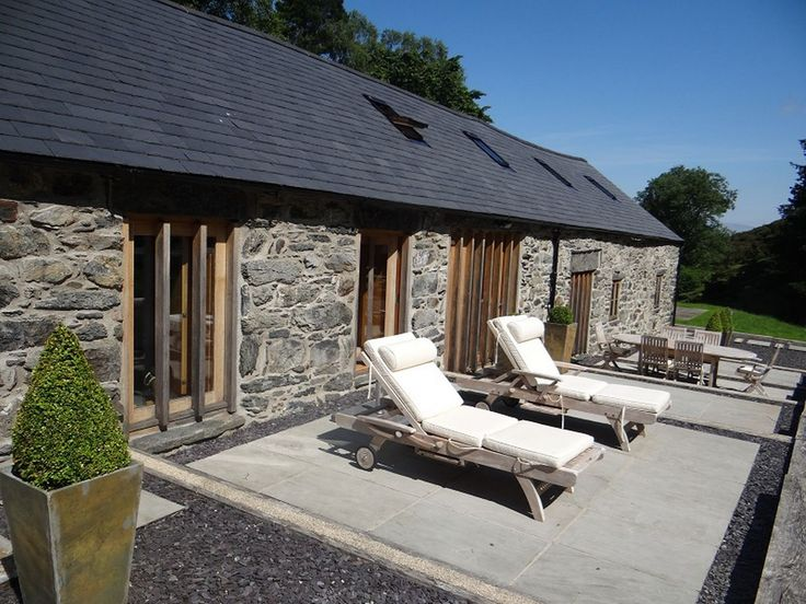 The Barn in Capel Garmon, which is on the market for £465,000