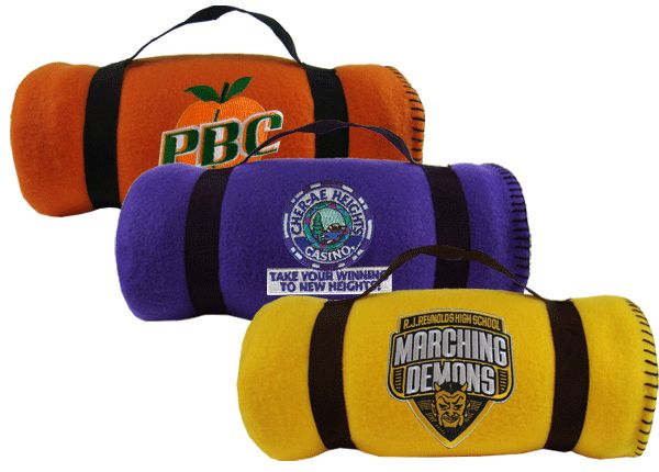 4 Ideas for Mitzvah Exit Favors - Custom Fleece Blankets for a Bar & Bat Mitzvah by Cool Party Favors - mazelmoments.com