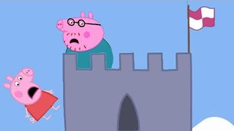 Peppa Pig Full Episode Lego Ambulance Skater Boy At The Park George pig Animation - YouTube