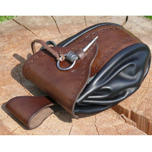 Period Viking Bag - inspired by a bag from northern Denmark (Mors region) from the end of the 9th century - outfit4events