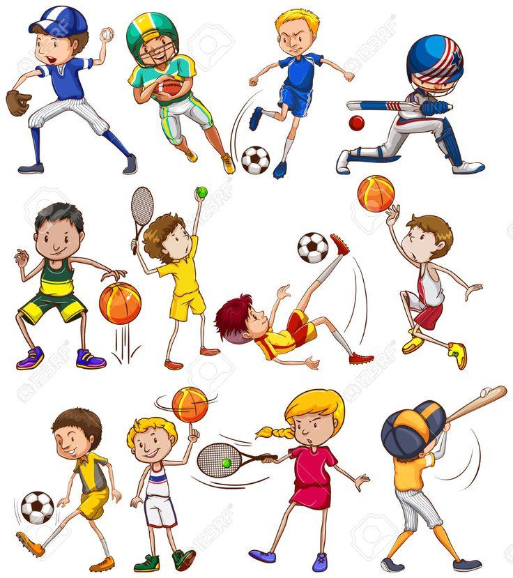 Маленькие картинки на тему спорт