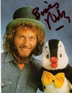 eighties autographe david michel et nestor le pingouin