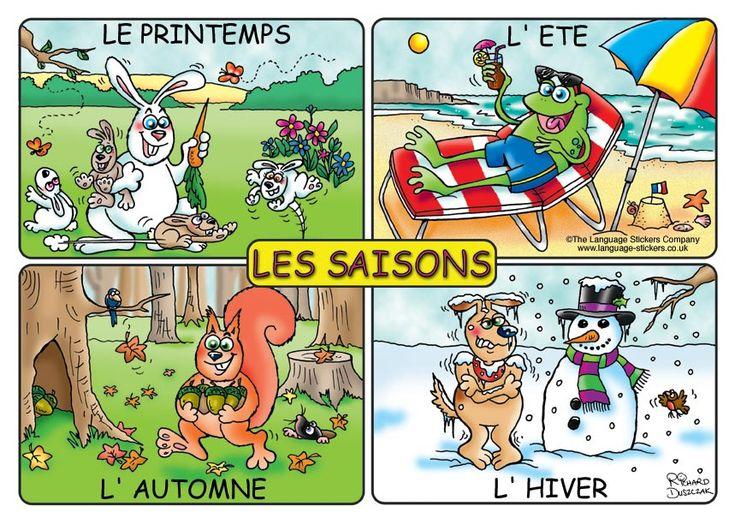 Les 4 saisons de l'année