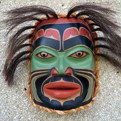 Coast Salish Hereditary Chief Mask