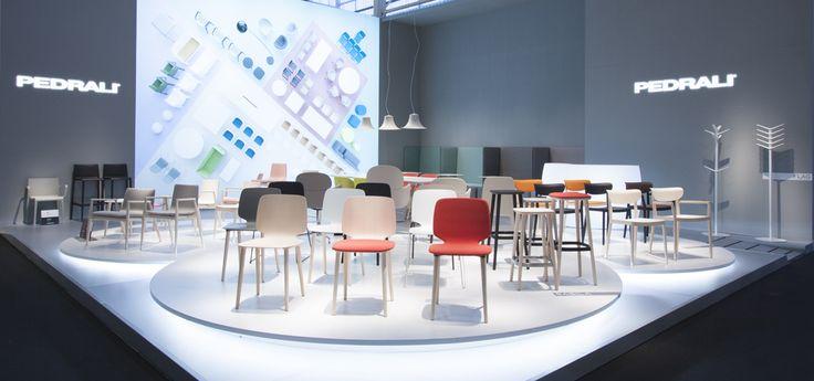 Pedrali Spa - Parigi Maison&Objet 2015 - Krea realizzazione e allestimento stand