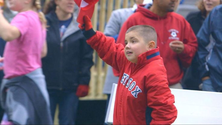 Thomas Hastings, who has muscular dystrophy, was over the moon when Make-a-Wish helped build the fantasy baseball field.