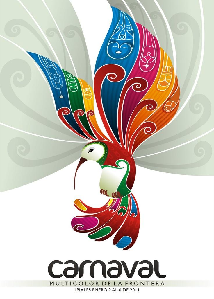 Esto es un logo de carnaval!
