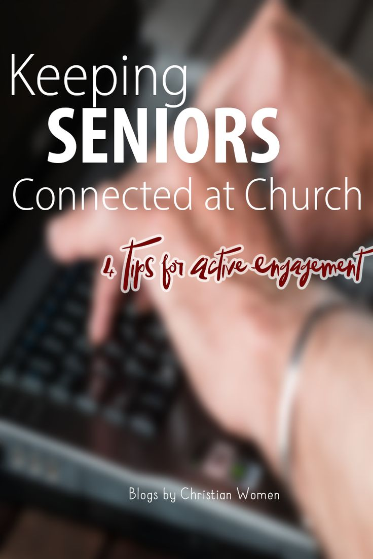 ministering to senior adults