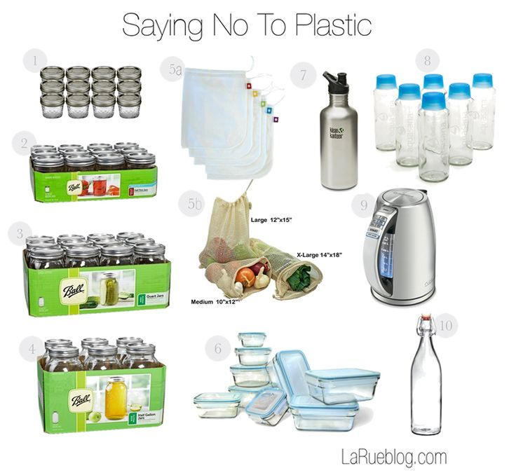 Saying No to Plastics: 10 Ways we're moving toward a BPA-free lifestyle!