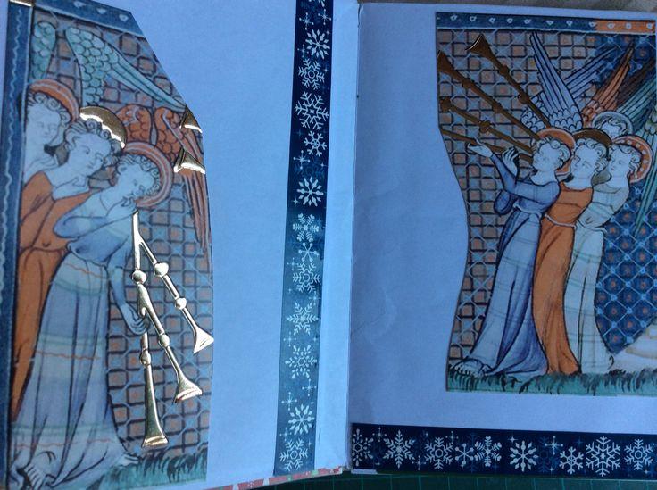 Christmas journal #1 - inside
