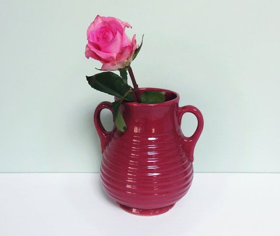341 Best Images About Pink And Burgundy Pottery Love On