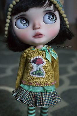 OOAk Custom Blythe Art Doll - Isobel- by Cupcake Curio