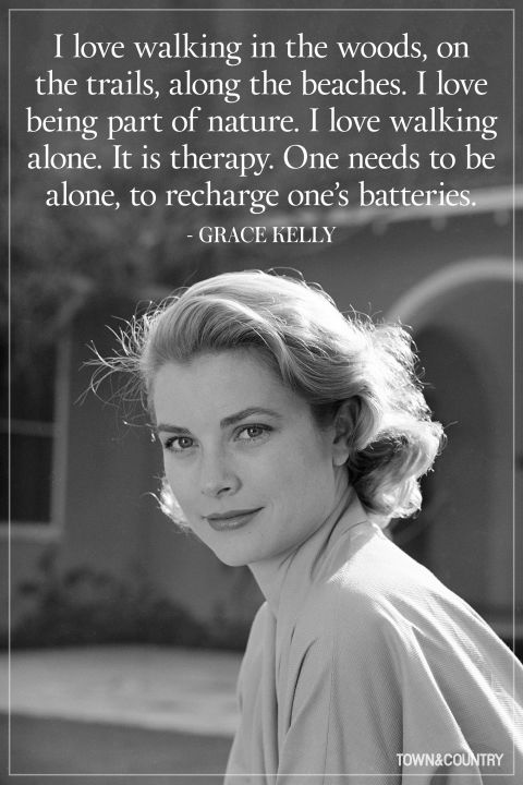 Grace Kelly inspired some of our new Spring Collection, and you can see why when you read this quote.