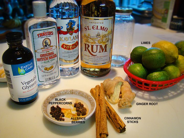 DIY Bay Rum Aftershave - I use Pirate Bay Rum or West Indies type