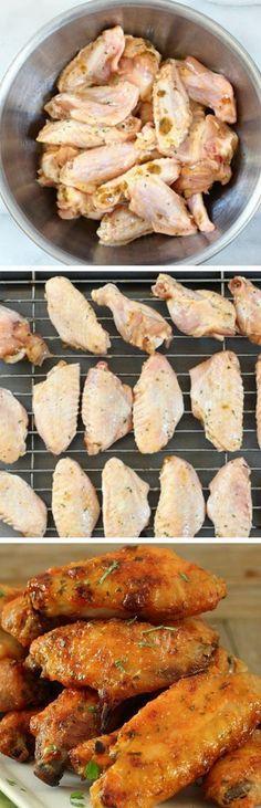 Stunning corner: Baked Chicken Wings Recipe