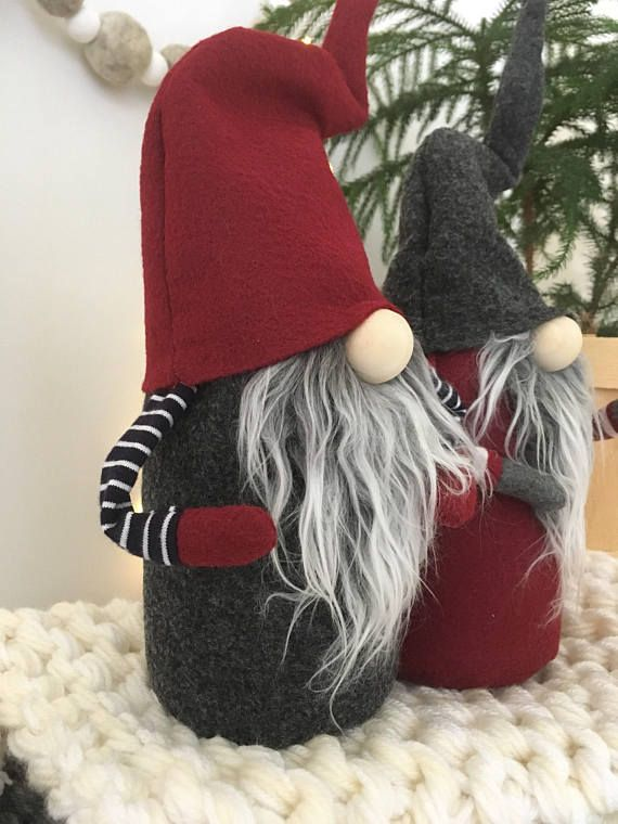 Claus the Scandinavian Christmas Gnome PDF Pattern This digital pattern will show you how to make a scandinavian inspired Christmas gnome or tomte . Finished he will be about 12 inches tall. ( This is NOT an authentic Nordic Gnome ™that I sell from my main site nordikatja.etsy.com , but rather a easier DIY version .) Instructions are in English . This pattern assumes you have some basic sewing skills. That being said this pattern is EASY , if you know how to use a sewing machine, you can…