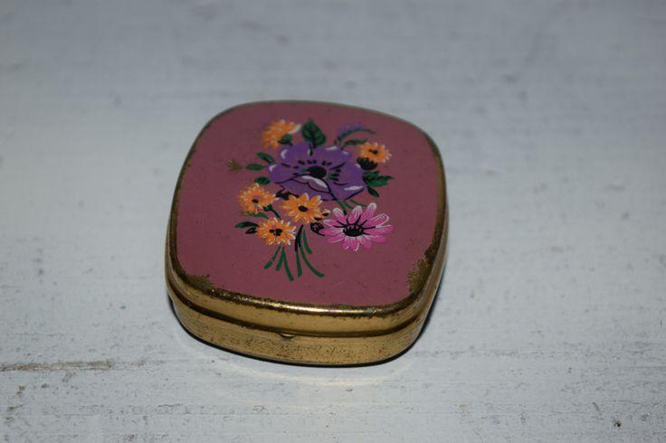 Weiteres - Vintage  Pillendose/ Metalldöschen - ein Designerstück von VitaMonella bei DaWanda