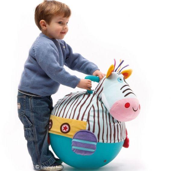 Piłka #zebra idealna do zabawy / zebra ball, Bawi