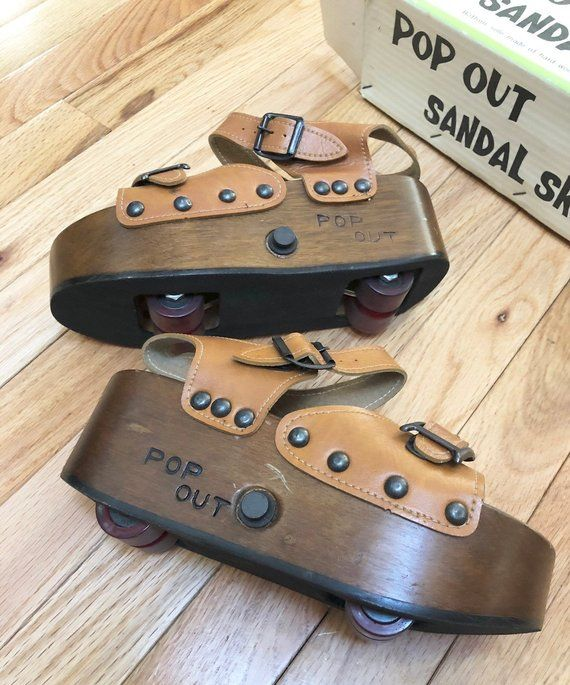 Roller skate shoes, Vintage 70s, Roller