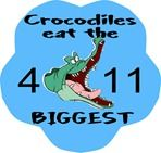 FREE DOWNLOAD - Crocodiles eat the Biggest math worksheets for elementary from Living Life Intentionally
