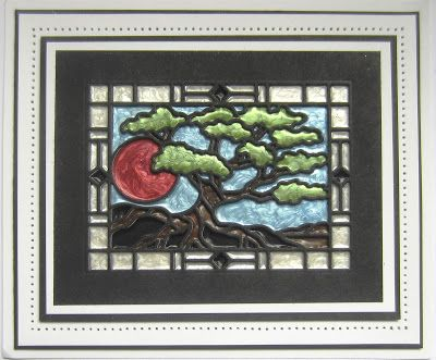 PartiCraft (Participate In Craft): Bonsai Stained Glass
