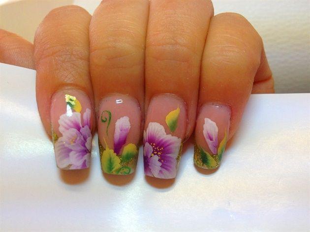 one stroke by nina86 - Nail Art Gallery nailartgallery.nailsmag.com by Nails Magazine www.nailsmag.com #nailart