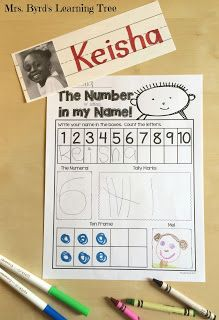 Name Games! and a FREEBIE! - Lots of ideas for using students' names for literacy learning in kindergarten. (Mrs. Byrd's Learning Tree)