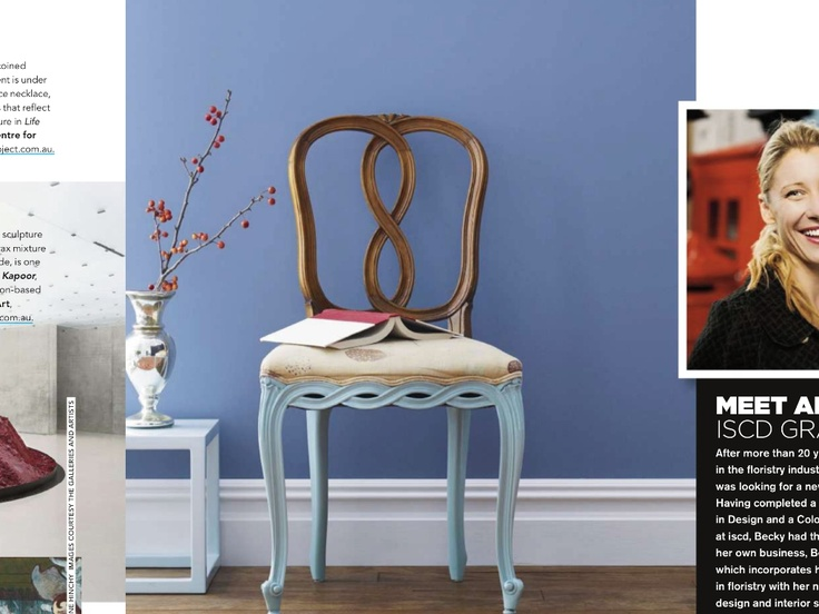 Painted chair | Second hand chairs, Leather dining room ...