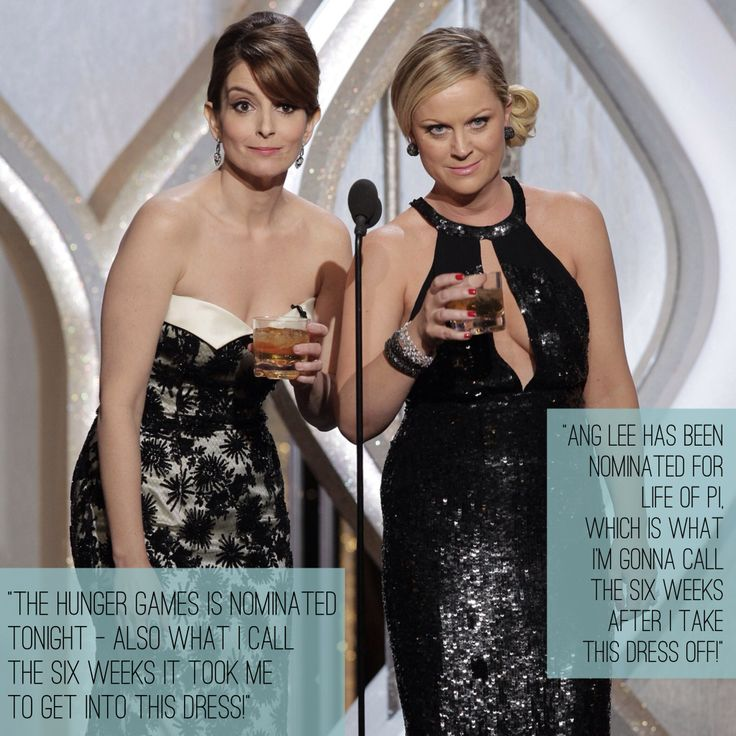 Tina and Amy! Can't wait for the Golden Globes!