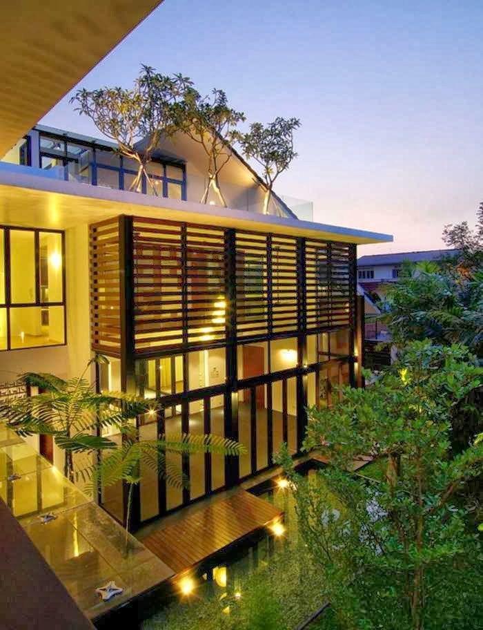 Desain Rumah Minimalis Ala Amerika  design rumah indah desain rumah ala korea