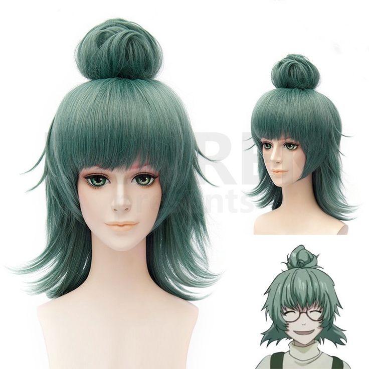 Tokyo Ghoul Cosplay Oneeyedowlmon Halloween Wigs Green
