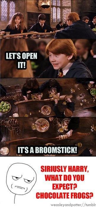 Nun, es könnte ein Basketball gewesen sein   – Harry Potter