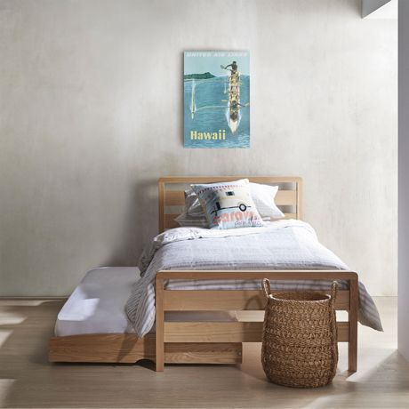 http://www.freedom.com.au/furniture/bedroom/beds/23412859/storabed-king-single--trundle-bed-with-castors-natural/ $849
