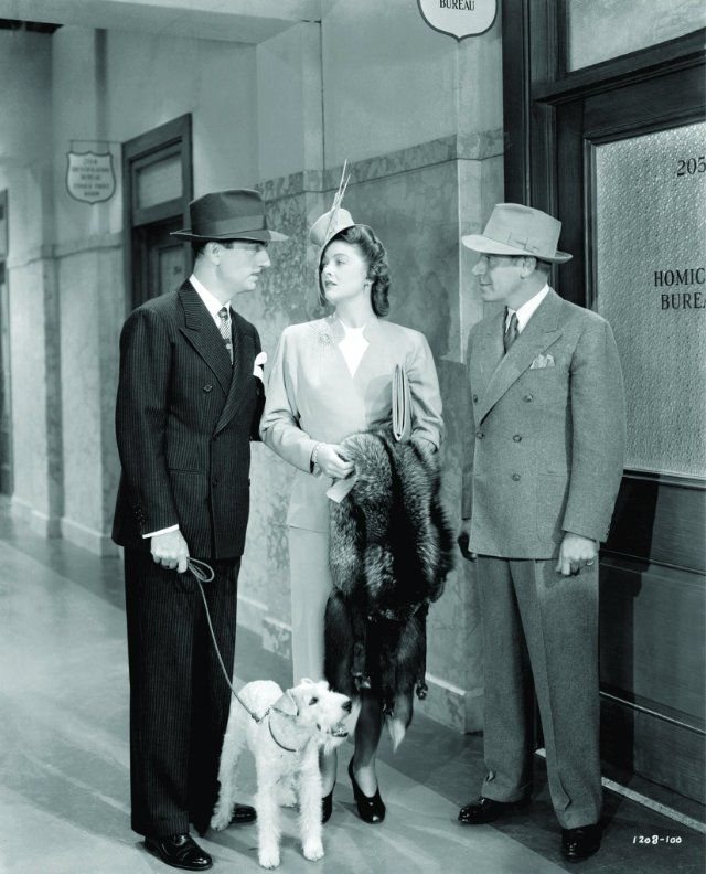 Shadow of the Thin Man is my favorite. Love every word, outfit, cocktail and murder in any of the Thin Man movies. Next to Spencer and Hepburn, William Powell and Myrna Loy were one of the best movie pairs put together