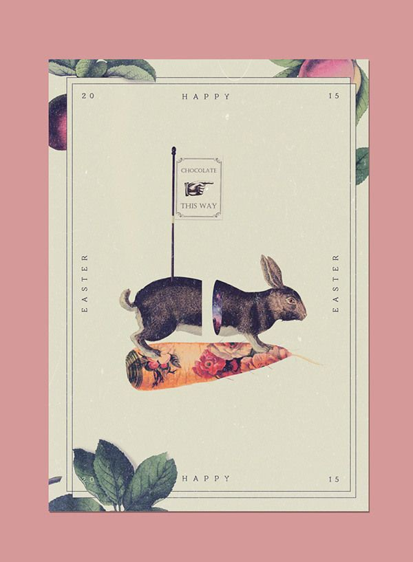 Happy Easter 2015 on Behance in Happy Easter 2015