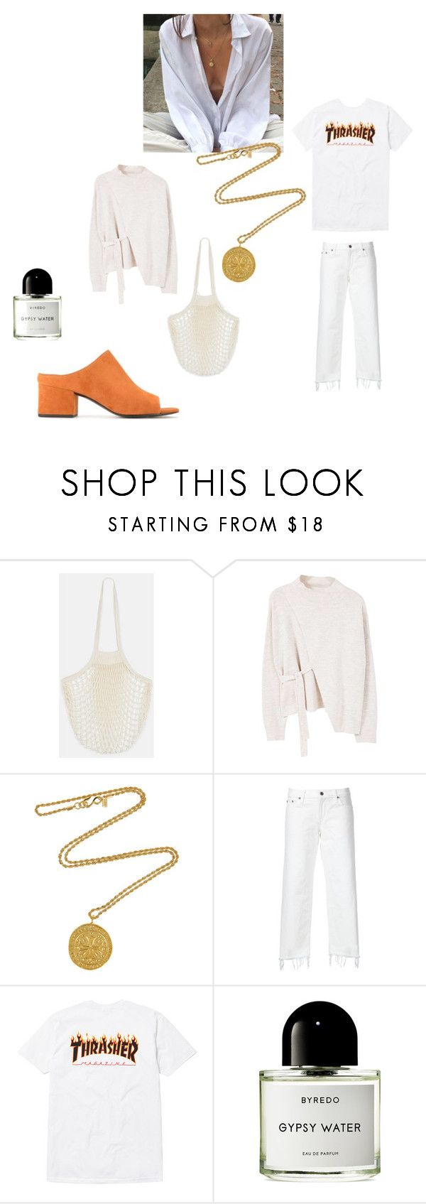 """""""Untitled #236"""" by fashiondisguise on Polyvore featuring MANGO, Kenneth Jay Lane, Simon Miller, Byredo and 3.1 Phillip Lim"""