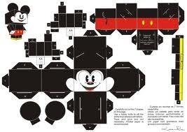 Mickey Mouse PaperCraft