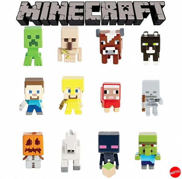 Mine Craft Clip Art Figures