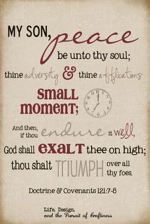 LDS Scripture Word Art w/ free download from Life. Design. and the Pursuit of Craftiness