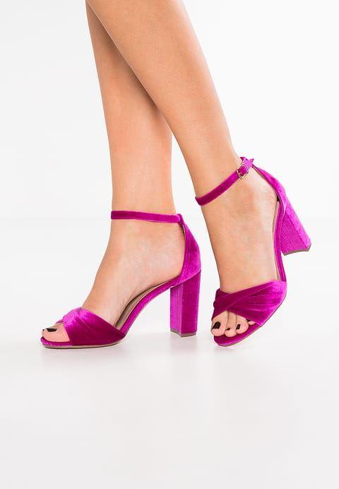 Chaussures Dorothy Perkins SHANI - Sandales à talons hauts - fuschia violet: 40,00 € chez Zalando (au 06/07/17). Livraison et retours gratuits et service client gratuit au 0800 915 207.