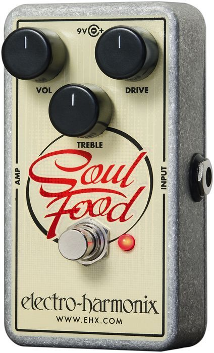 Electro-Harmonix Soul Food Overdrive Guitar Effects Pedal - a klone for a fraction of the price. Wtf? $62?!